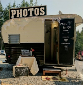PIXIE - charming vintage trailer photo booth
